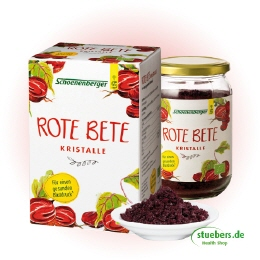 Rote-Bete-Kristalle